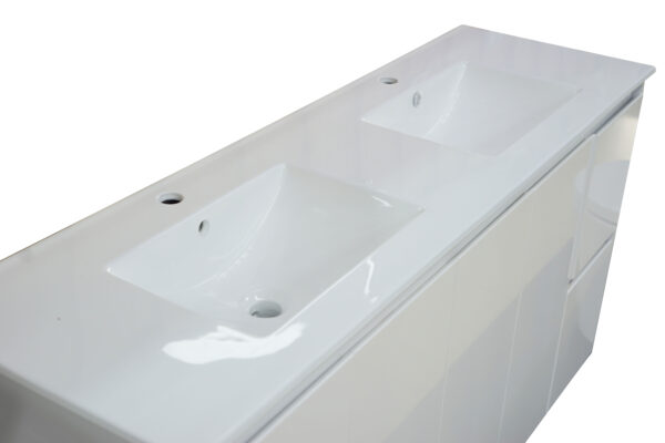 Square Poly Vanity 1500mm