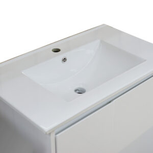 Square Poly Vanity 750mm