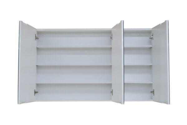 Large Bevel Edge Mirror Cabinet