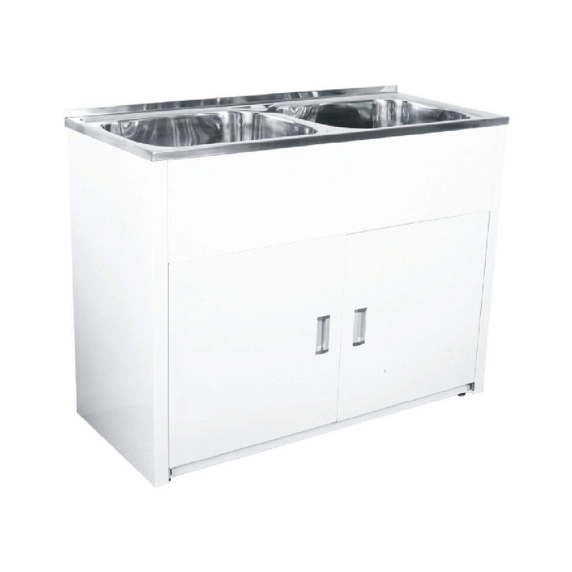 Beau Double Laundry Tub With Cabinet U2013 45L