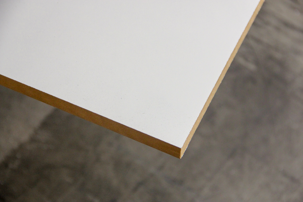 White Mr Mdf 3600x1200x18mm Trademaster