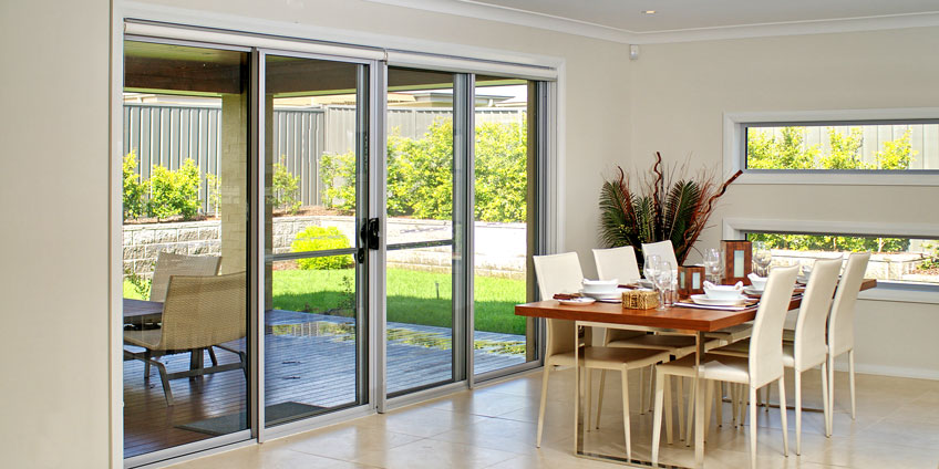 Sliding Door 2100mm High x 3010mm (Wide) - 3 Panel - Trademaster