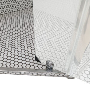 Diamond Semi-Frameless Showerscreen
