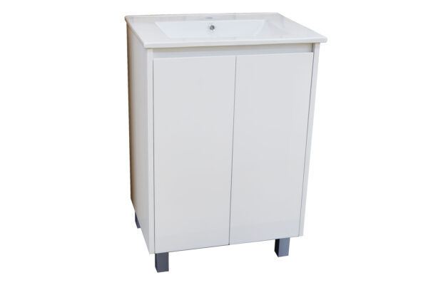 Square Poly Vanity 600mm
