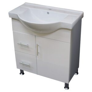 Semi-Recessed Vanity 750mm