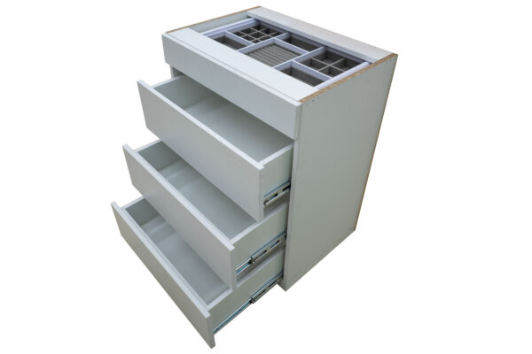 Pull Handle Jewelry Drawer Unit